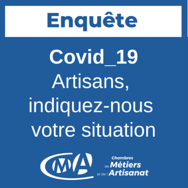 enquête artisan post-confinement