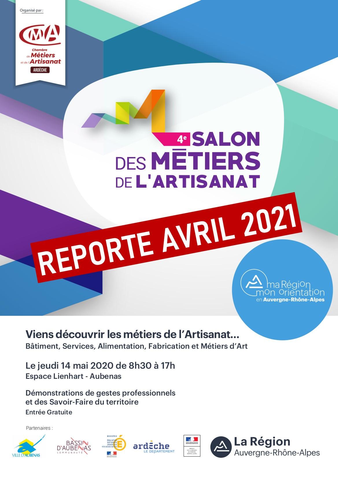 Report 4e Salon Des Metiers De L Artisanat Chambre De Metiers Et De L Artisanat De L Ardeche